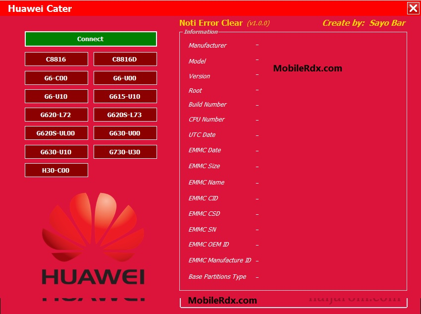 Download Huawei Notification Error Clear Tool v1 0 0