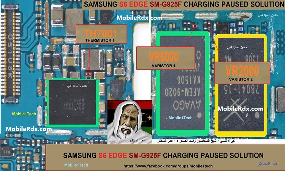 Samsung Galaxy S6 Edge G925F Charging Paused Problem Solution