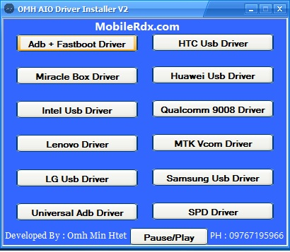 Download OMH AIO Driver Installer V2