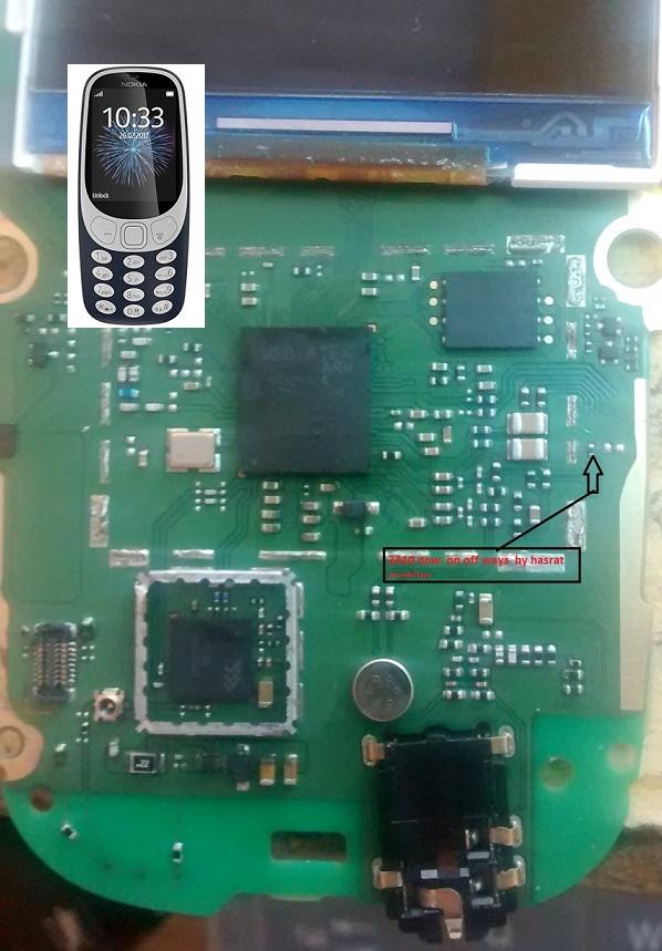New Nokia 3310 Power Key Ways On Off Button Jumper
