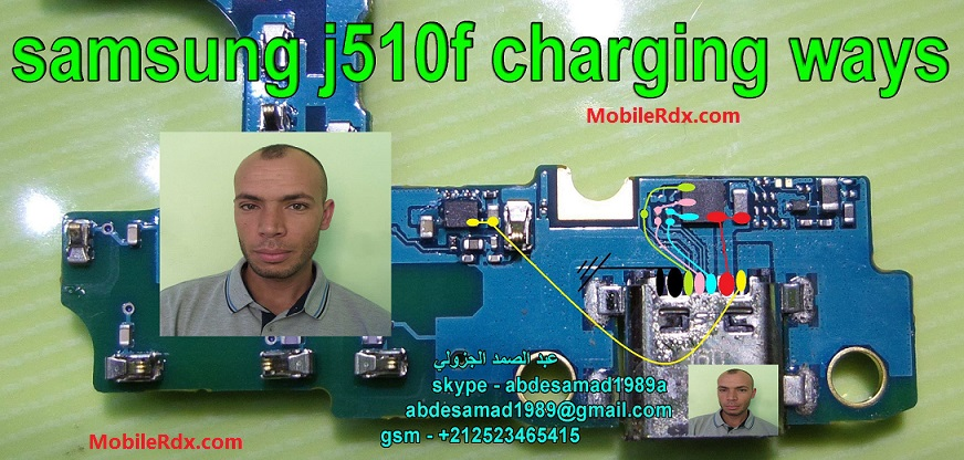 Samsung Galaxy J5 J510F Usb Ways Charging Problem Jumper