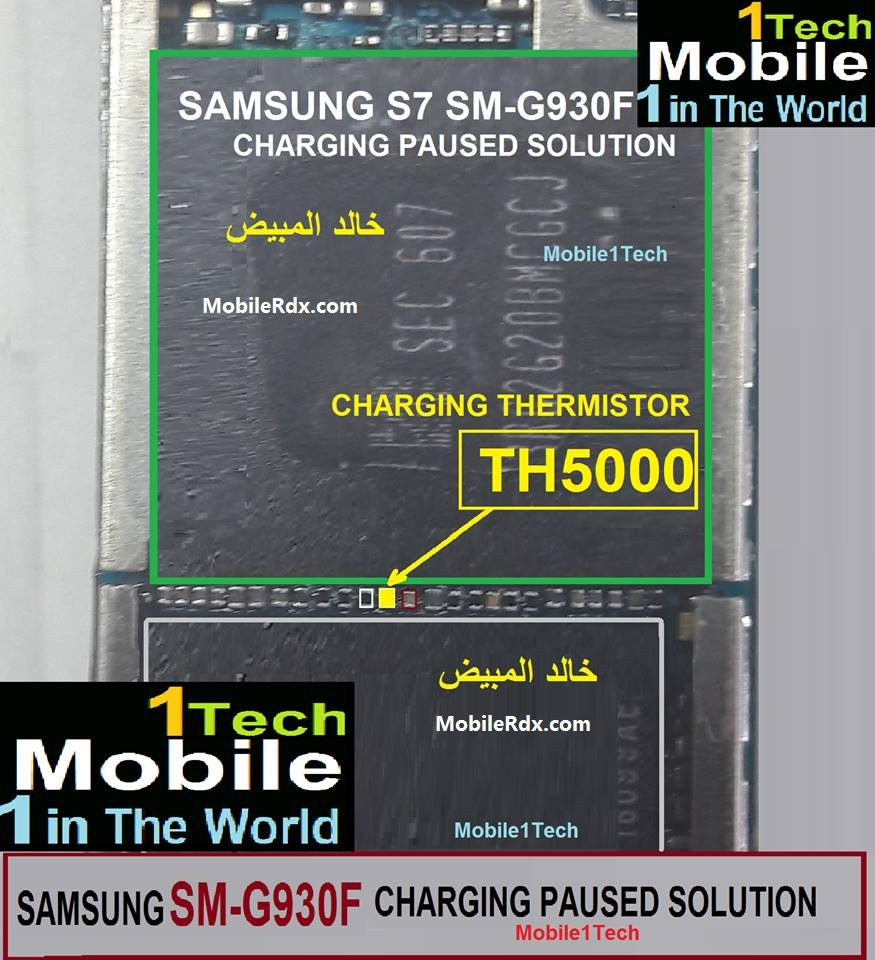 Samsung Galaxy S7 G930F Charging Paused Problem Solution