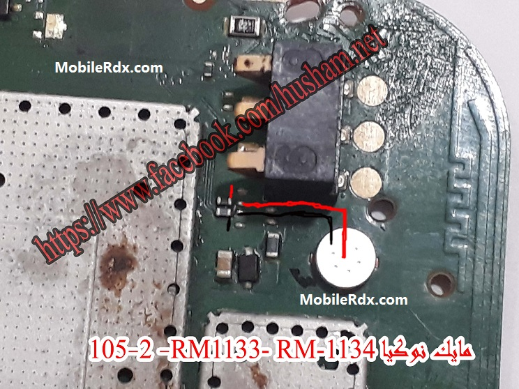 Nokia 105 RM 1133 Mic Ways Solution Mic Jumper