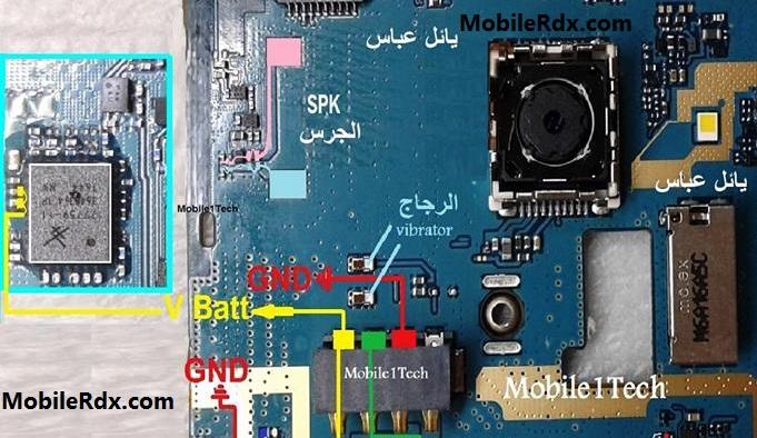 Samsung Galaxy J1 J120H Speaker Ways Ringer Jumper Solution