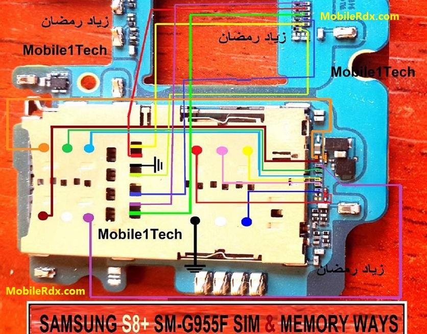 Samsung Galaxy S8 Memory Card Ways MMC Jumper Solution