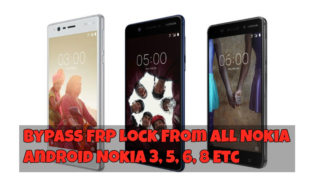 Bypass FRP Lock From All Nokia Android Nokia 3 5 6 8 Etc
