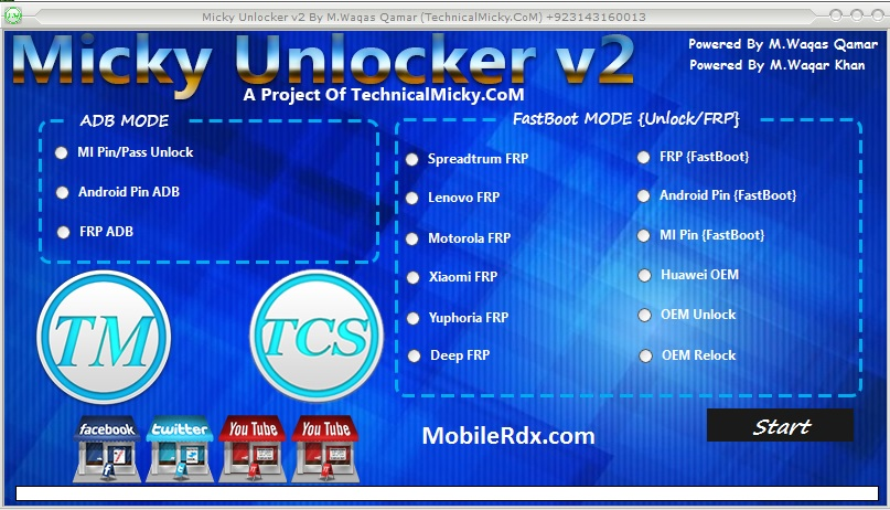 Download Micky Unlocker Tool Android FRP Unlocker Tool