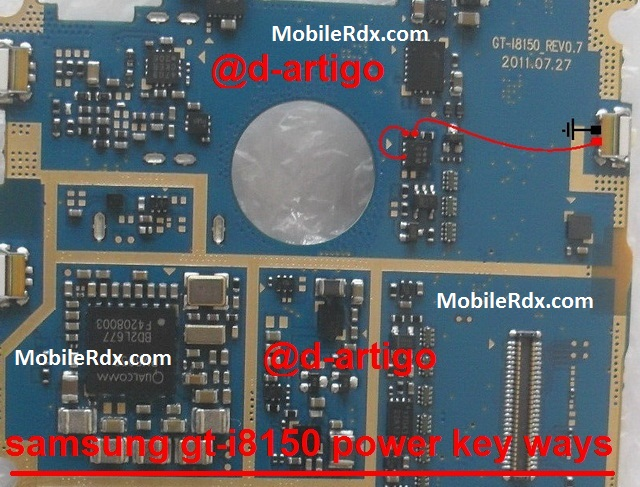 Samsung GT I8150 Power Button Ways Solution