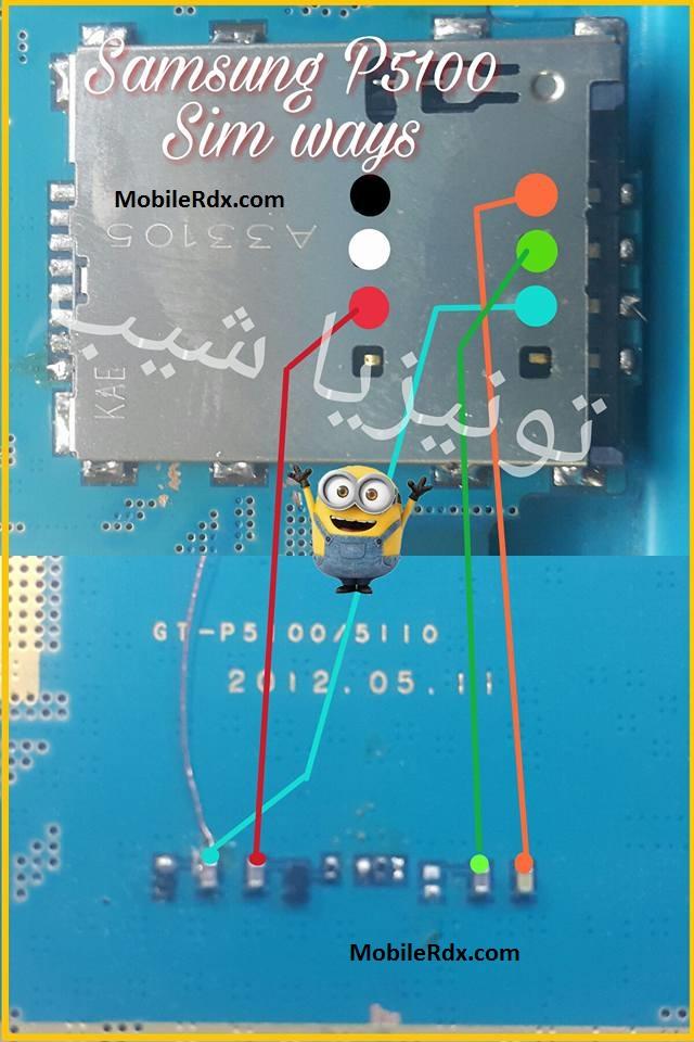 Samsung Galaxy Tab 2 P5100 Sim Card Problem Ways Solution