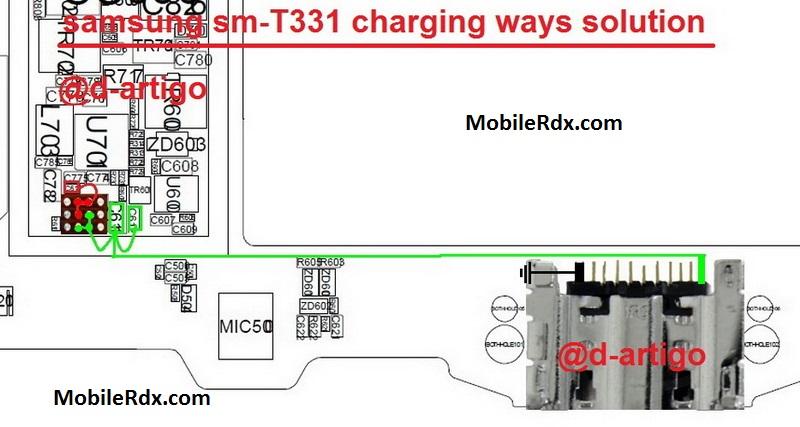 Samsung Galaxy Tab4 T331 Charging Problem Ways Solution