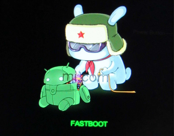 fastboot mode logo - Remove FRP Lock From Xiaomi Mi A1 Pattern Unlock