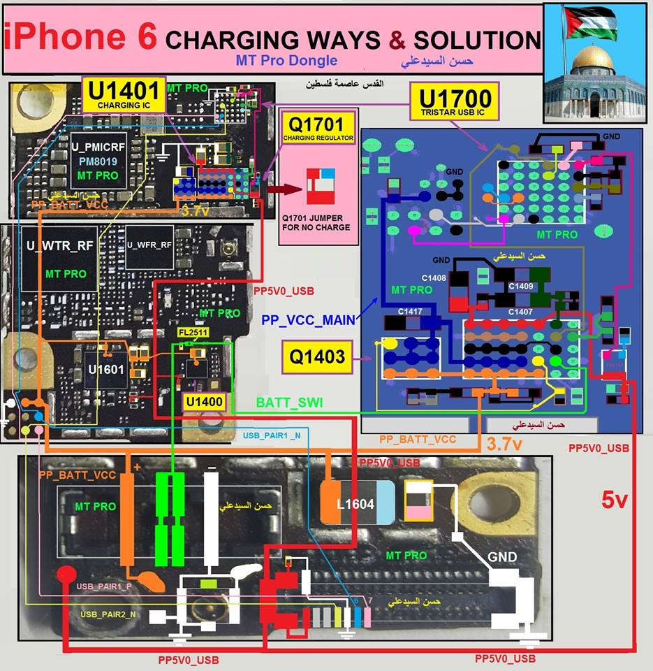 iphone 6 charger not working iphone 6 charging problem repair solution charging ways 3388