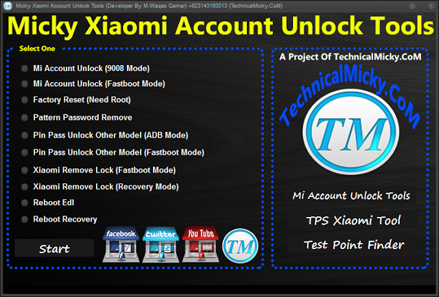 Micky Xiaomi Account Unlock Tools Cover - Download Micky Xiaomi Account Unlock Tools 2018