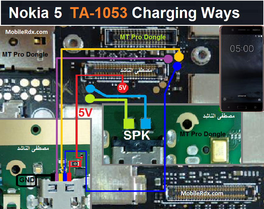Nokia 5 Charging Problem Ways Solution USB Jumper