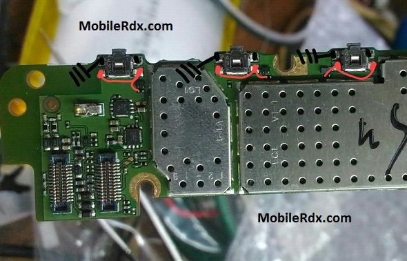 Nokia X Power Button Ways Volume Keys Jumper