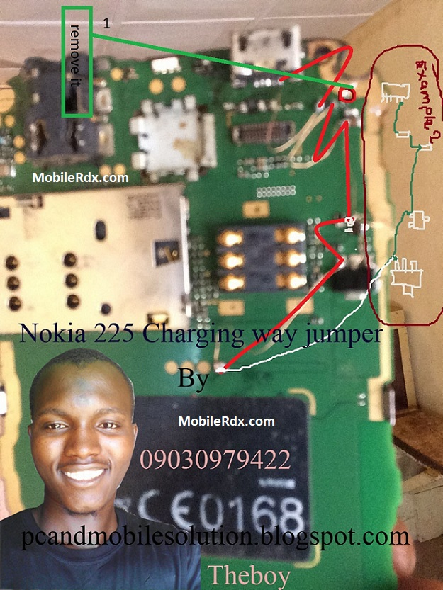 Nokia 222 Not Charging Problem Jumper Solution