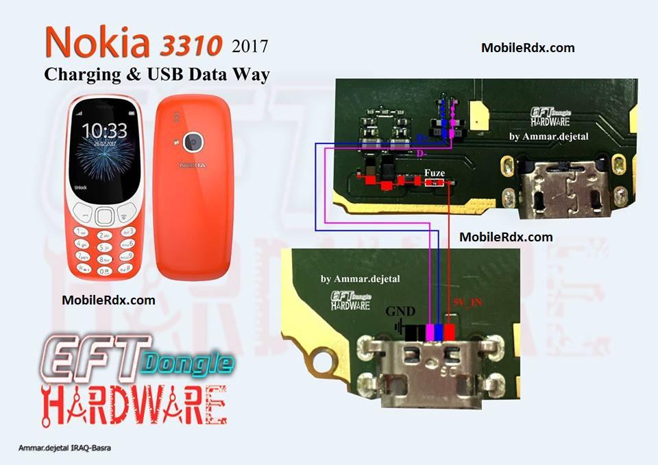 Nokia 3310 Charging Ways Solution USB Problem Jumper