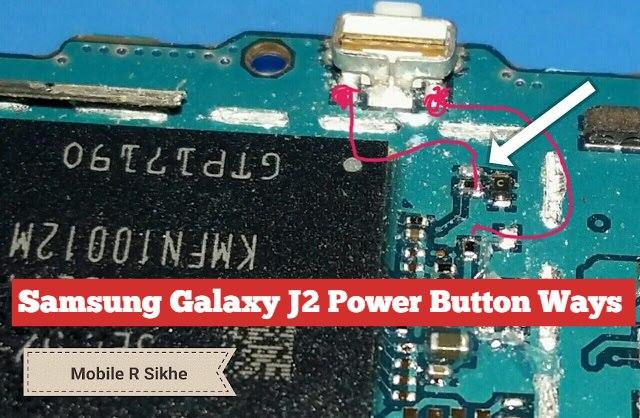 Samsung Galaxy J2 botão de energia maneiras solução de problemas