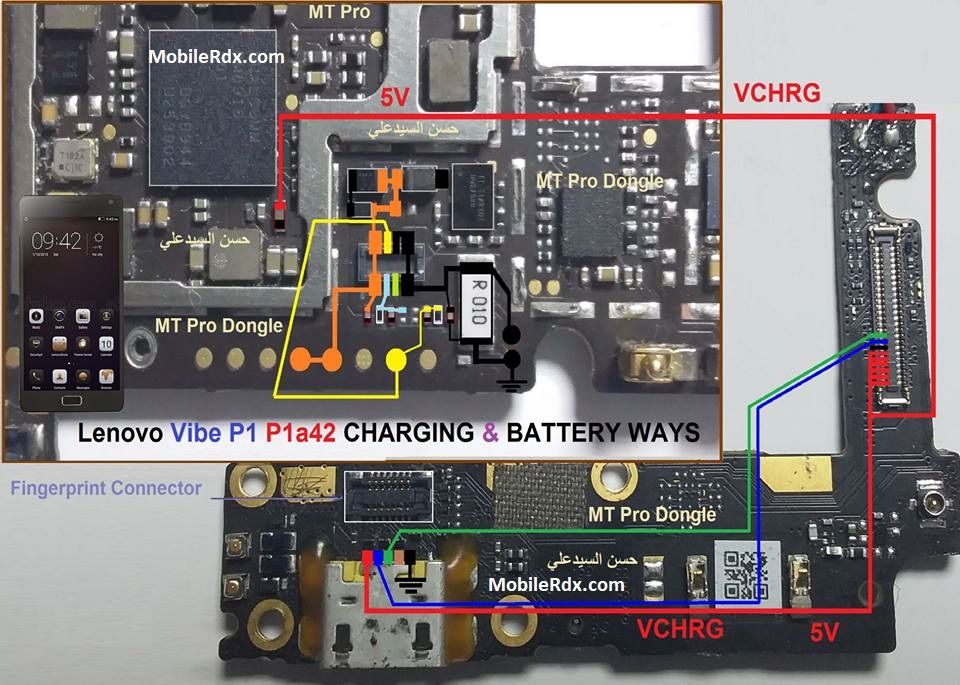 Lenovo Vibe P1 Charging And Battery Connector Ways Solution