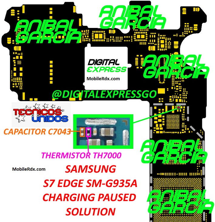 Samsung Galaxy S7 Edge G935A Charging Paused Problem Solution