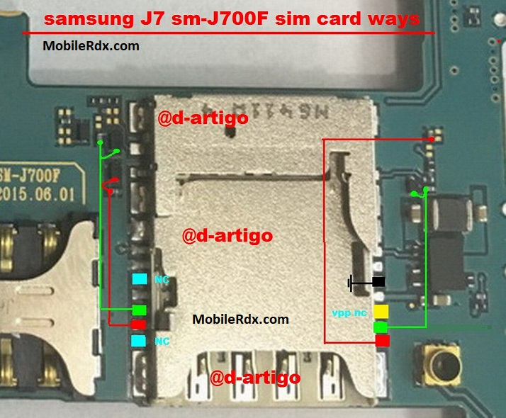 Samsung Galaxy J7 J700F Sim Card Ways Insert Sim Solution