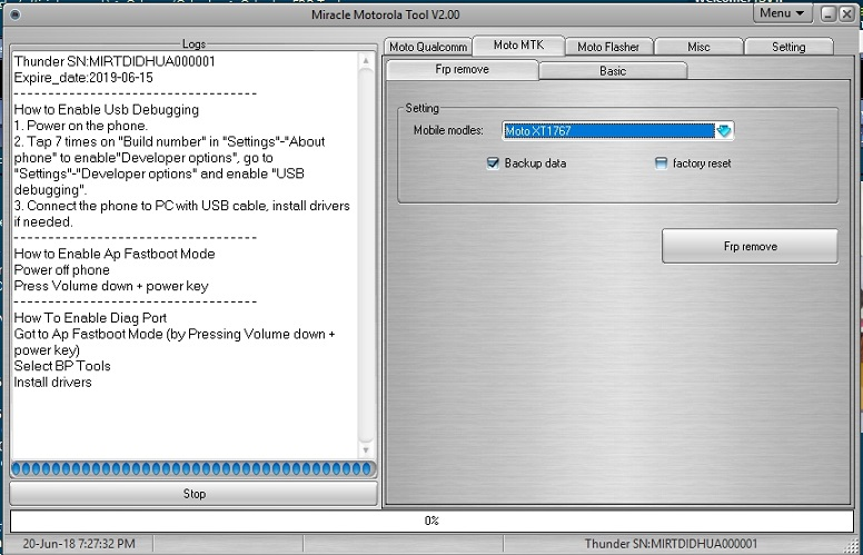 Download Miracle Moto Tool V2 03 Thunder Edition Update