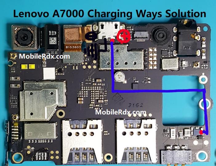 Lenovo A7000 Charging Ways