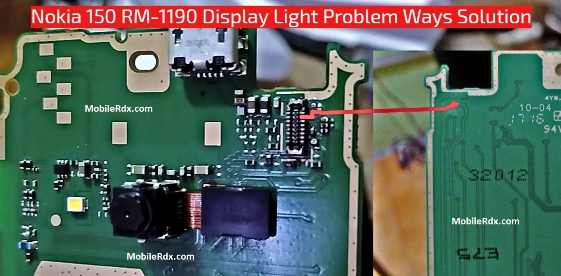 Nokia 150 RM 1190 Display Light Problem Ways Solution
