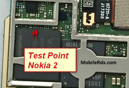 Nokia 2 TA 1029 Test Point For Flashing EDL Mode Ways
