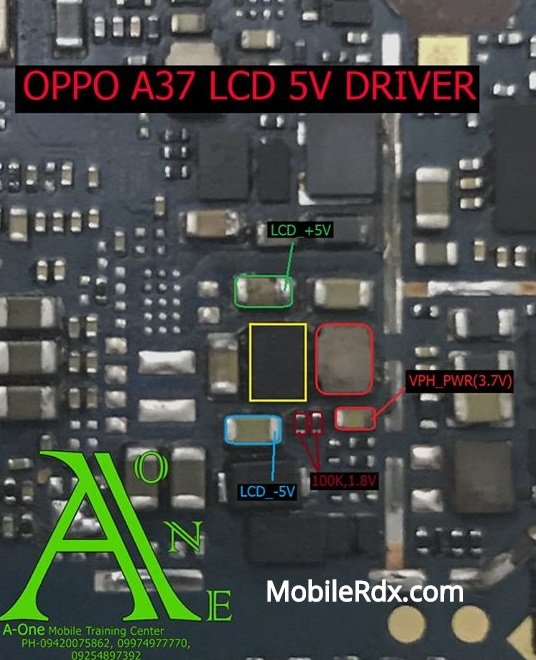 Oppo A37 Backlight Ways Solution