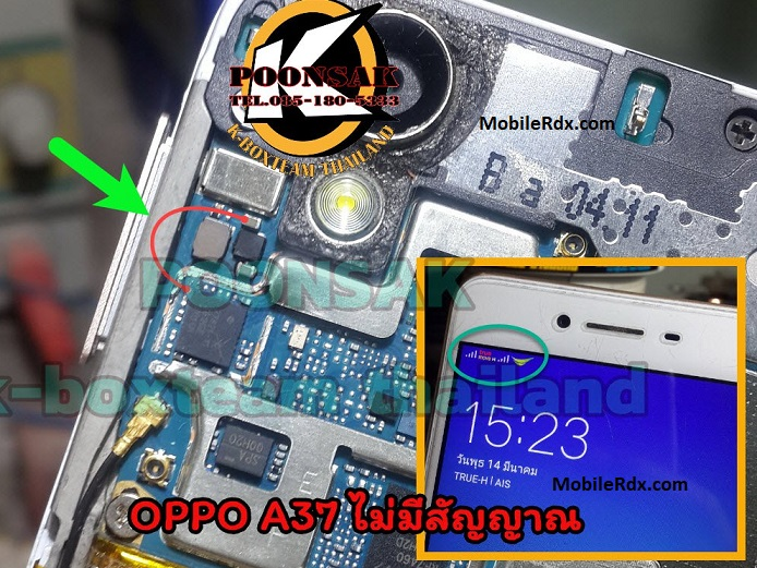 Oppo A37 Network Problem Repair Solution Signal Ways