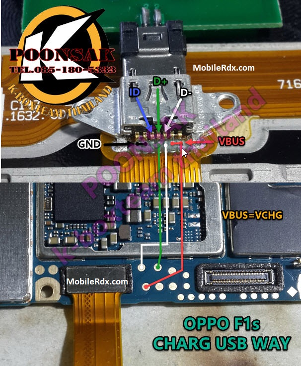 Oppo F1s Charging Ways Solution Usb Jumper