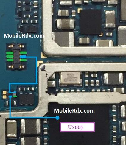 Samsung Galaxy S7 G930V Power On Off Key Problem Jumper