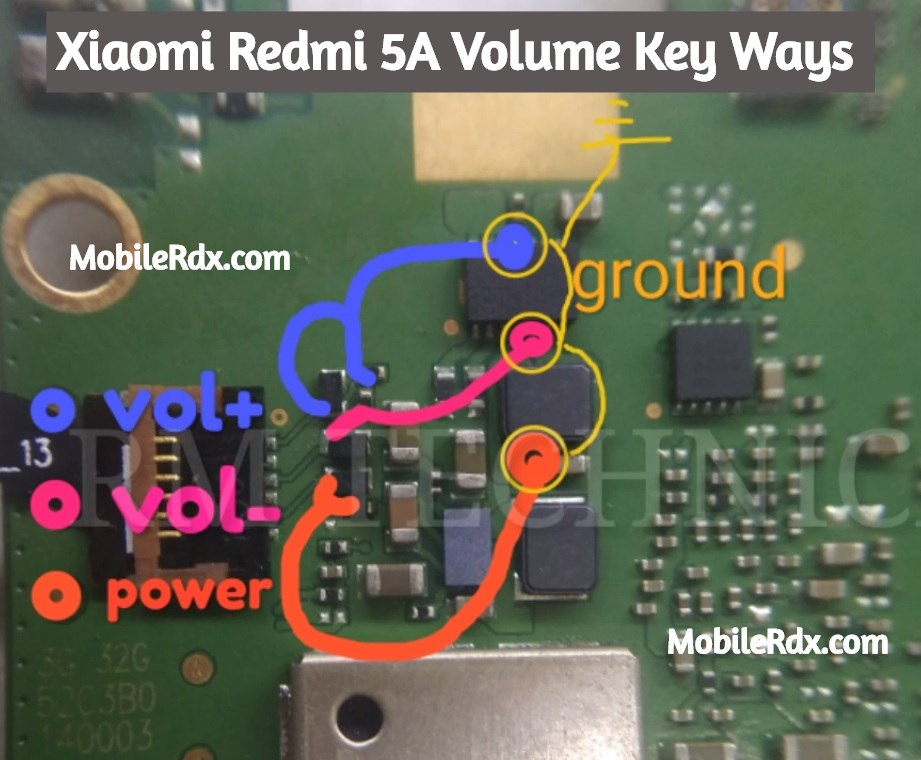 Xiaomi Redmi 5A Volume Key Ways