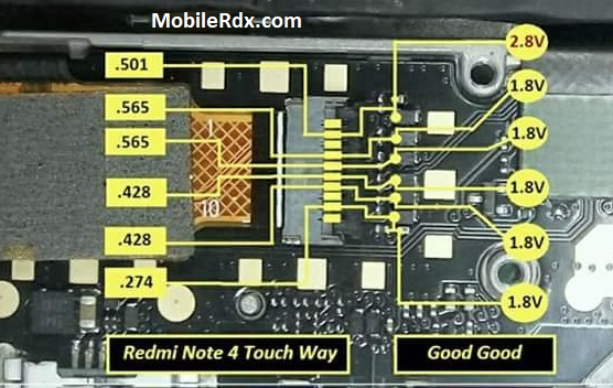 Xiaomi Redmi Note 4 Touch Screen Solution Touch Ways