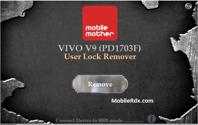 Download Vivo V9 PD1703F User Lock Remover Tool
