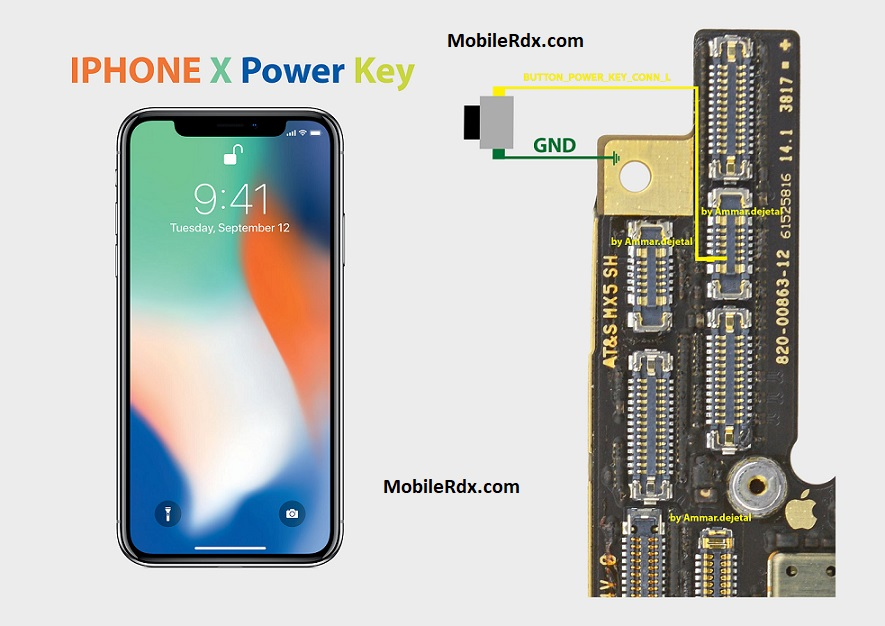 Repair iPhone X Power Button Problem On Off Button Ways