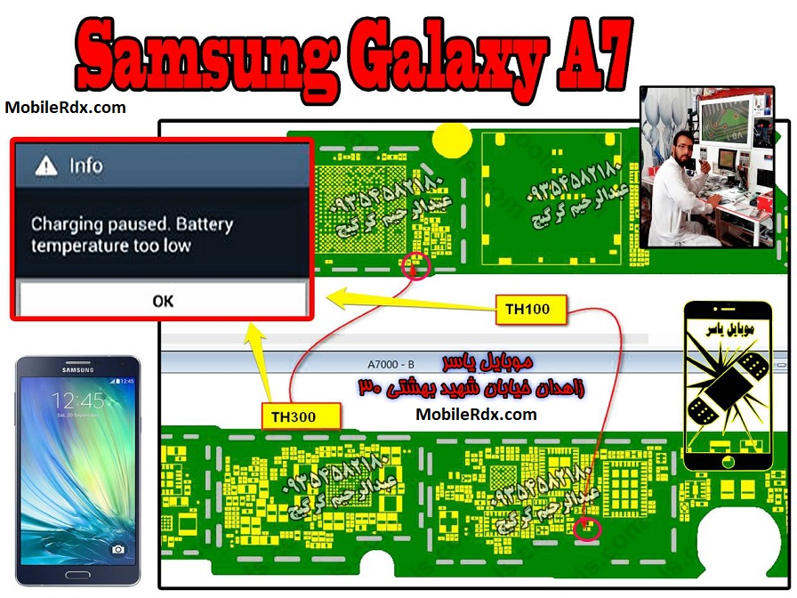 Samsung Galaxy A7 A700F Charging Paused Solution