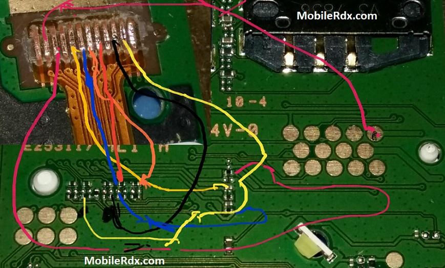 Nokia 130 TA 1017 Display Ways Backlight Jumper Solution