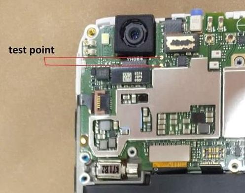 Xiaomi Redmi 4X Testpoint