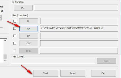 OEM Unlock button on the Samsung J7 Pro 2