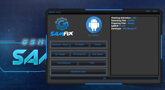 SamFix V1.4 Tool Unknow Baseband Fix FRP Remove SN Repair
