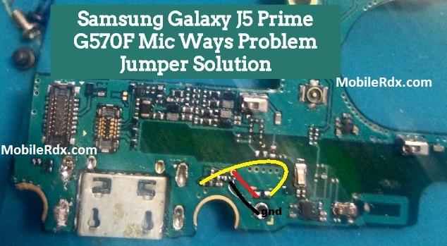 Samsung Galaxy J5 Prime G570F Mic Ways Problem Jumper Solution