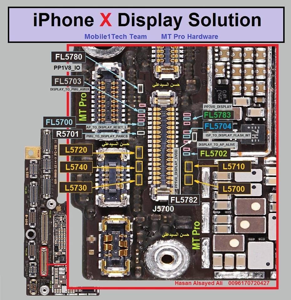 iPhone X Display Problem Repair Solution