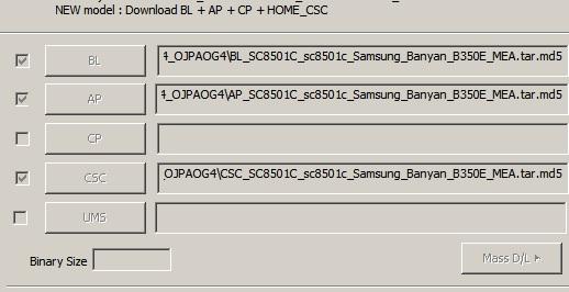 samsung b350e odin flash