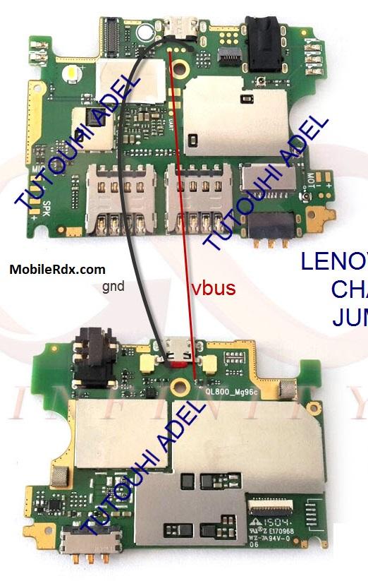 Lenovo A526 Charging Ways Problem Repair Solution