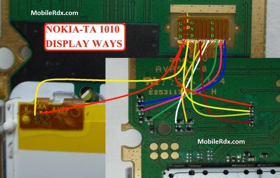 Nokia 105 TA 1010 White Display Problem Solution Full LCD Ways