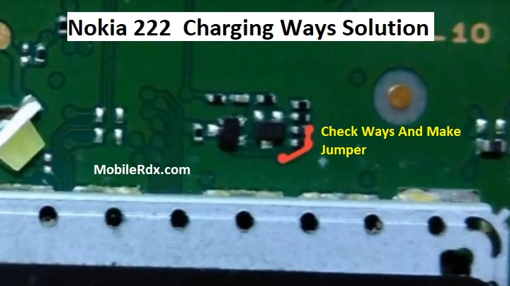 Nokia 222 RM 1136 Charging Ways Solution Not Charging Problem Jumper