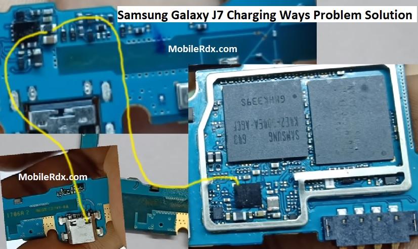 Samsung Galaxy J7 Charging Ways Problem Repair Solution