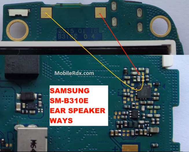 Samsung Guru Music 2 B310E Ear Speaker Ways Earpiece Problem